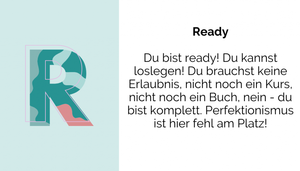 Du bist Ready!